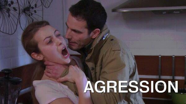 Laurence agressée par son Mari ?