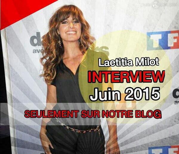 """Laetitia Milot : """" Mon livre adapté sur TF1,  c'est dingue ... !"""