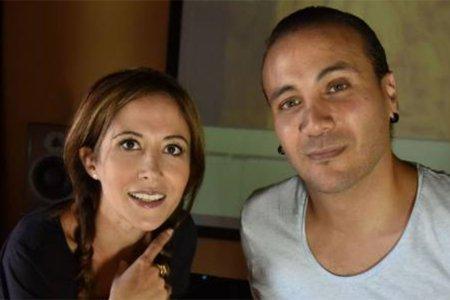 Fabienne Carat et le chanteur Merwan Rim, l'incroyable duo  !