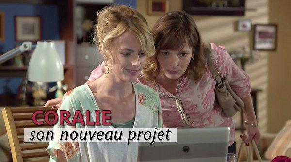 Le nouveau projet de Coralie