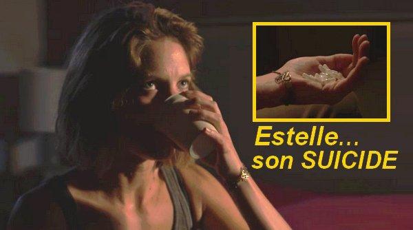 TERRIBLE : Estelle tente de se suicider