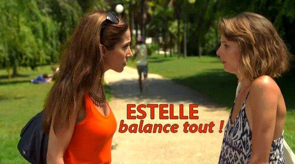 Estelle balance tout à Samia