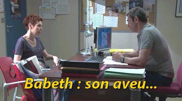 Babeth, son aveu bouleversant