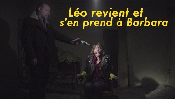 ALERTE ! LEO S'EN PREND A BARBARA !!