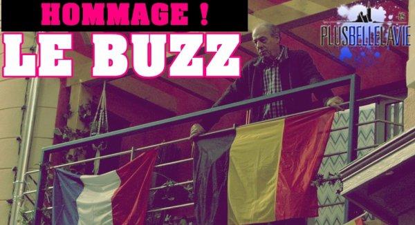HOMMAGE DES ATTENTATS DE BRUXELLES, FAIT LE BUZZ !
