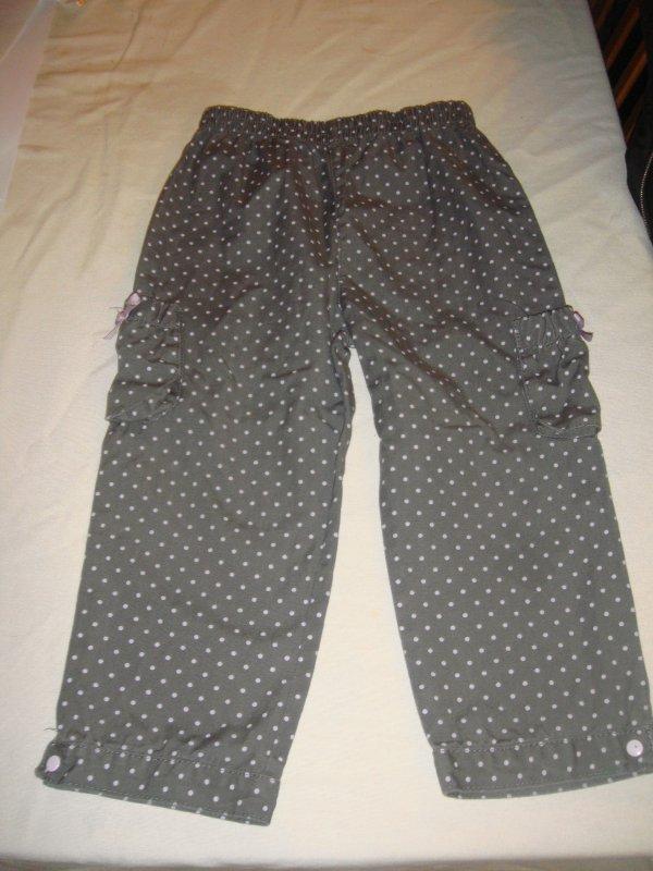pantalon en toile