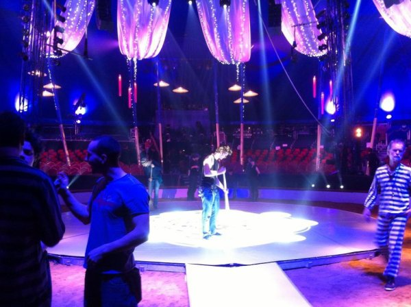 Rétitions cirque