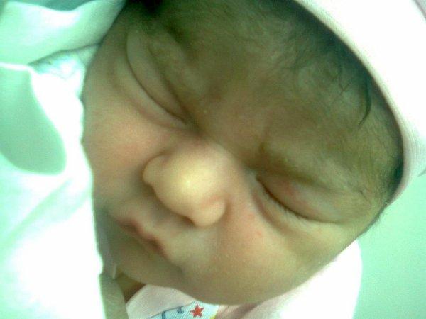mi sofi recién nacida
