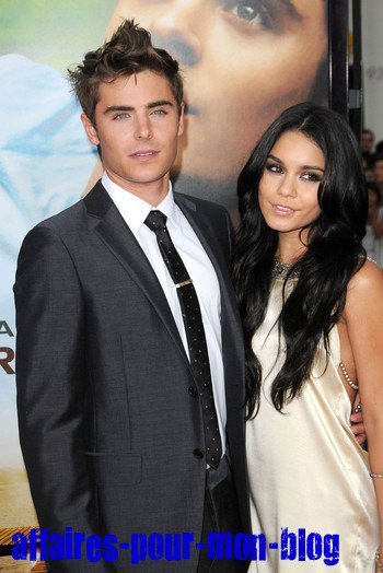 Photo 1 de Zac Efron et Vanessa Hudgens sur le tapis rouge