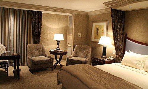 Chambre d'hôtel de Mégane Regnery