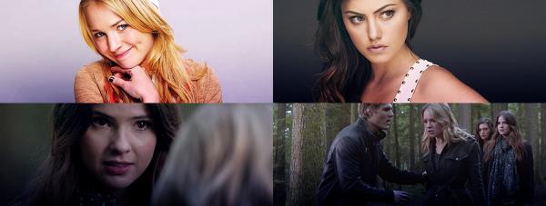 """The Secret Circle : Extrait 2 de 1x21 """" Prom """" + Shoot de Britt + Phoebe avec Teresa Palmer au Chateau Marmond + Photos préférées"""