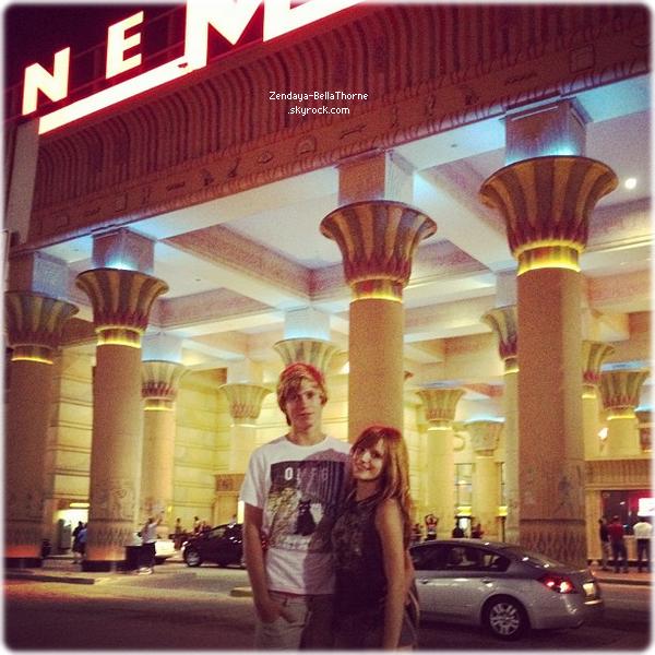 Bella à Miami avec Tristan