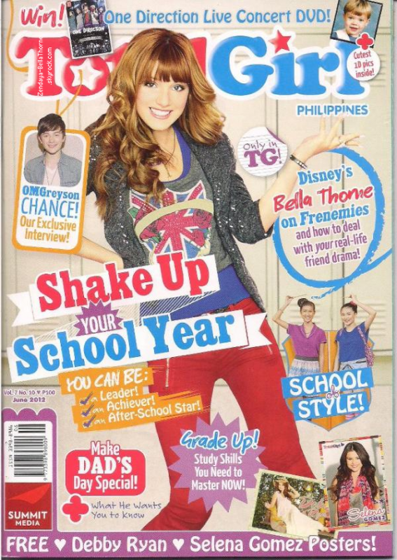 "Bella dans le magazine "" Total Girl """