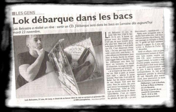 Lok Dans Le Republicain Lorrain !