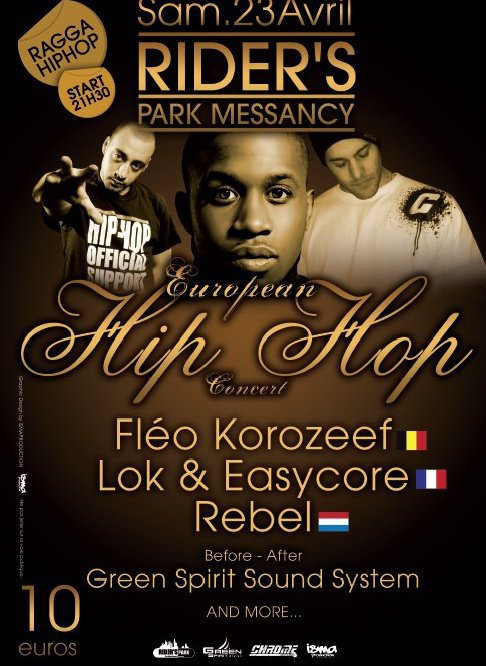 Concert 23 avril @rider's park Messancy