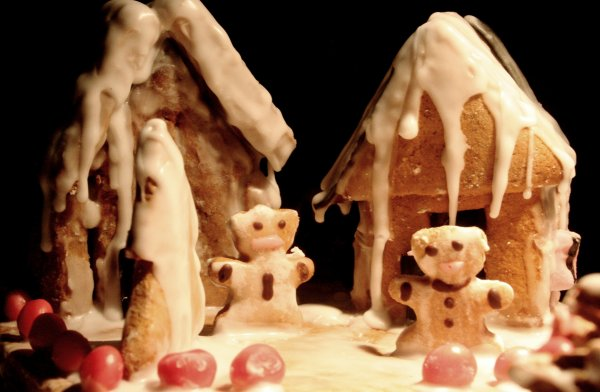 Maisons en pain d'épices.