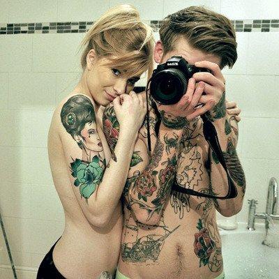 Tattoo Couple ♥