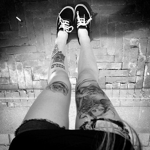 Tattoo Leg Girls