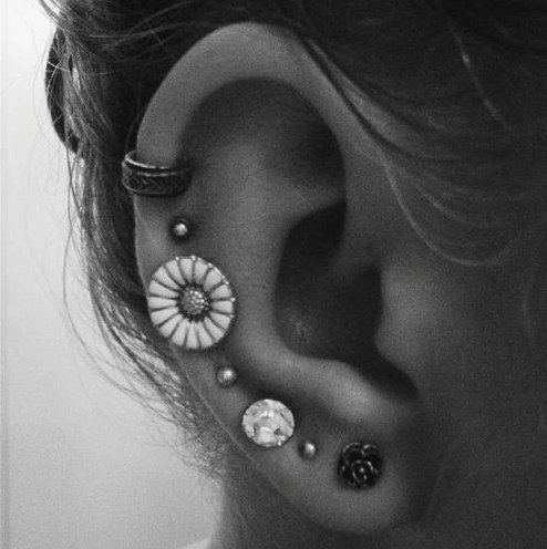 Piercings Oreilles