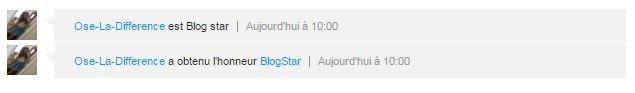 Blog Star !!!!