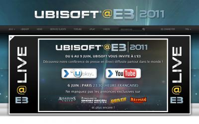 Suivez l'E3 2011!!