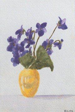 poeme peinture et dessin de La grande-duchesse Olga Nicolaïevna