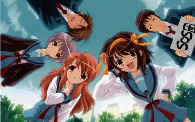 La mélancolie de Haruhi Suzumiya (saison 1 et 2)
