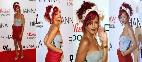 Rihanna : un look ultra sexy à Londres !
