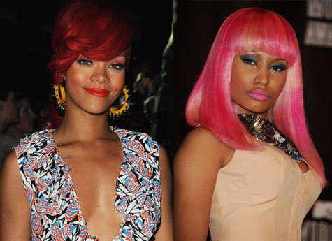 "Rihanna et Nicki Minaj ""Raining Men"""