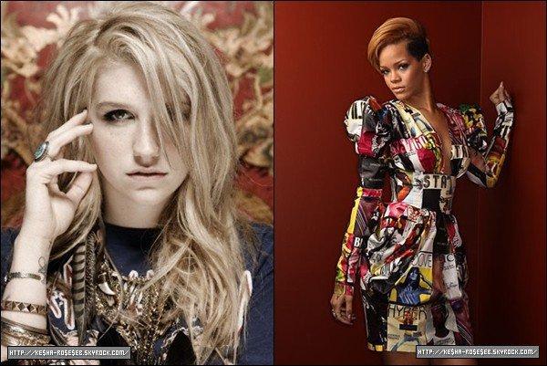 "Kesha : ""Tout va bien entre Rihanna et moi !"""
