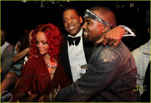 Rihanna, Jay-Z, Kanye West, Beyoncé et Chris Martin à Las Vegas pour le réveillon !