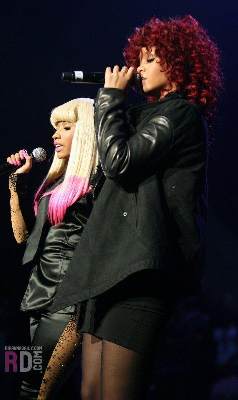 "Nicki Minaj et Rihanna : ensemble pour le clip ""Fly"""