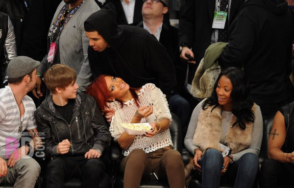 Rihanna au All-Stars Game 2011