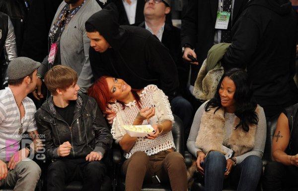 Rihanna au All-Stars Game 2011