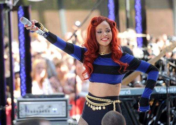 Rihanna au Today Show