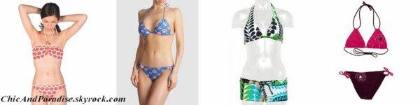 Les maillots de bain pour filles 2012 !