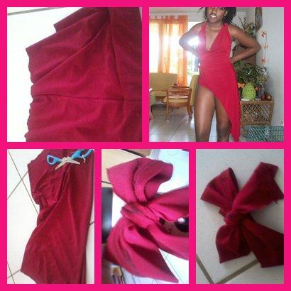 Ma robe fabriquer avec un pantalon