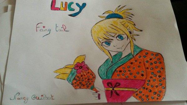 Fairy Tail <3 Mes oeuvre mes dessins mon passe temps <3