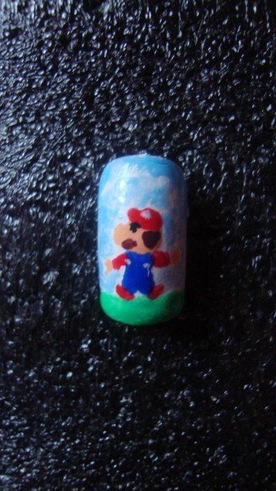 Ongle Mario