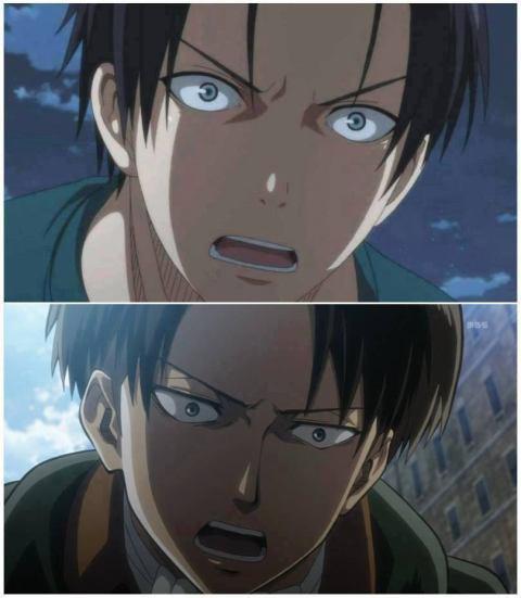 Takao (KnB) et Levi (SnK) : Ressemblance non ?