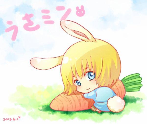 Joyeuse Pâques les Nekos ^-^