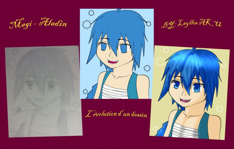 Evolution d'un dessin //#1 ?//