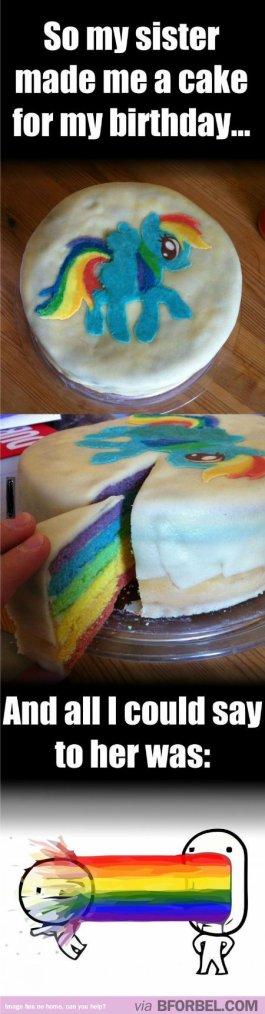 Je veux le même gâteau !