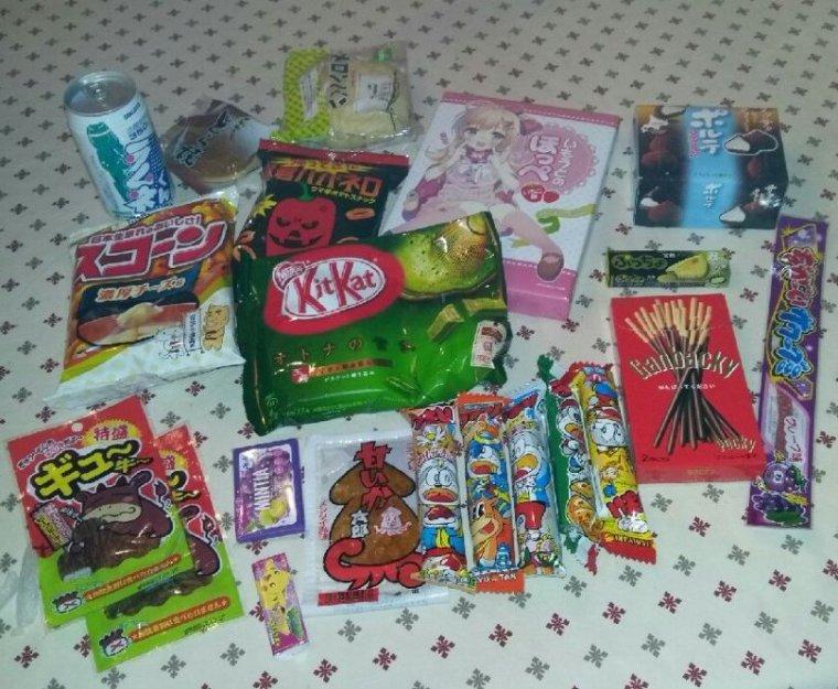 Bouffe Japonaise : Ma copmmande CandySan !