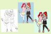 Evolution d'un dessin #2