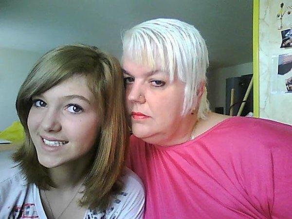 ma fille et moi.......et te voila grande love ma belle