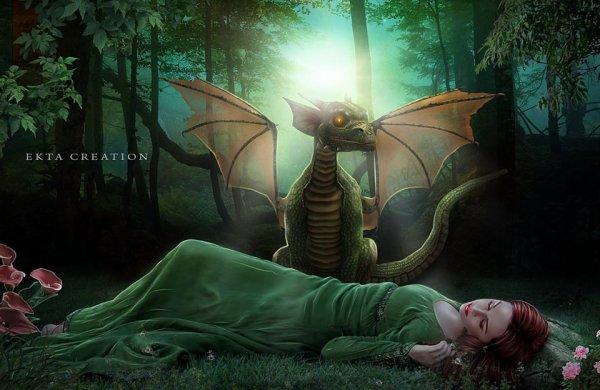 pour mon amie Saphira-dragonniere
