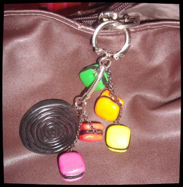 porte-clé sac à main...