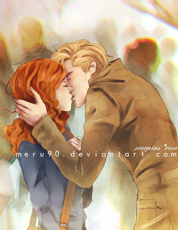 Le visage de glace de Clary Weasley