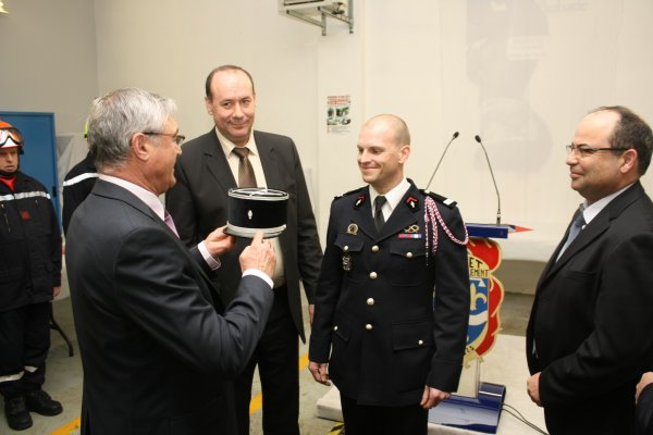 Nomination au grade de Lieutenant du Chef de Centre de SERMAISES
